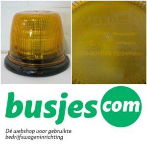 Productafbeelding: Whelen LED zwaailicht flitser 12v/24v NIEUW! (nr 165)