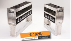 Productafbeelding: Aluca bedrijfswageninrichting voordeelpakket Compact A NIEUW!
