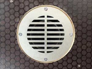 Productafbeelding: RVS Vloerventilatierooster 83mm rond NIEUW!