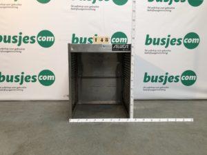 Productafbeelding: Aluca gebruikte bedrijfswageninrichting aluminium (nr 148)