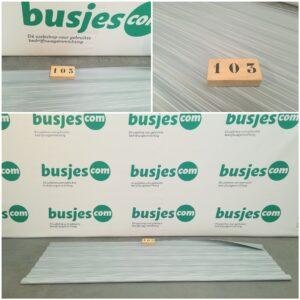 Productafbeelding: Vervangingsdoek voor de Thule 6200 luifel NIEUW (nr 103)