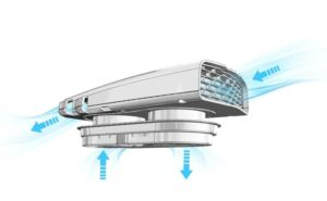 Productafbeelding: Easy Aero Dakventilator Wit NIEUW!