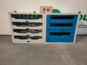 Productafbeelding: SteeBox gebruikte bedrijfswageninrichting (nr 96)