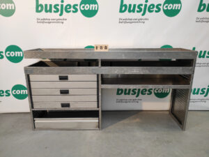 Productafbeelding: Aluca aluminium gebruikte bedrijfswageninrichting (nr 188)