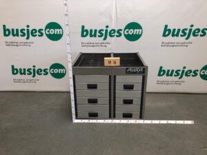 Productafbeelding: Aluca aluminium gebruikte bedrijfswageninrichting (nr 95)