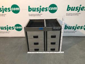 Productafbeelding: Aluca aluminium gebruikte bedrijfswageninrichting (nr 203)