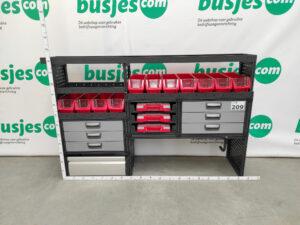 Productafbeelding: Modul System gebruikte bedrijfswageninrichting (nr 209)