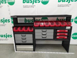 Productafbeelding: Modul System gebruikte bedrijfswageninrichting (nr 210)