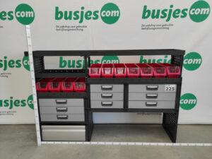 Productafbeelding: Modul System gebruikte bedrijfswageninrichting (nr 225)