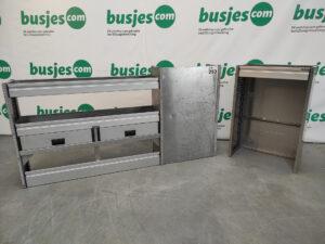 Productafbeelding: Aluca gebruikte bedrijfswageninrichting set (nr 253)