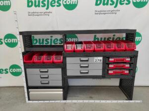 Productafbeelding: Modul System gebruikte bedrijfswageninrichting (nr 278)