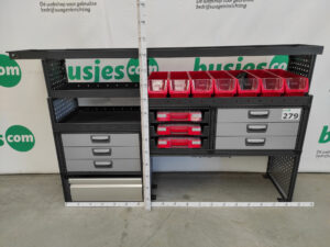 Productafbeelding: Modul System gebruikte bedrijfswageninrichting (nr 279)