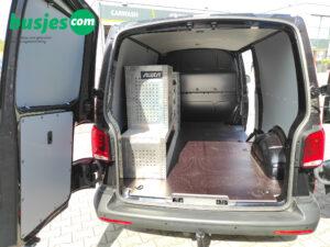 Productafbeelding: Aluca gebruikte bedrijfswageninrichting Transporter L2 (nr 262)